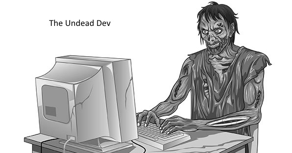 Footer Logo: The Undead Dev